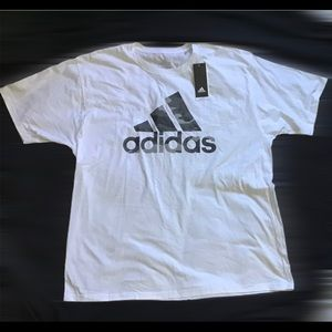 Adidas The Go To Camo Logo Tee Men's Sz 2XL NWT
